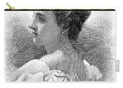 Caroline Lavinia Harrison Carry-all Pouch by Granger
