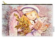 Caroling Angel Carry-all Pouch