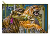 Carousal Camel And Tiger On A Merry-go-round Carry-all Pouch