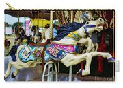 Carousel - Horse - Jumping Carry-all Pouch by Paul Ward