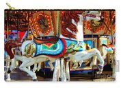Carousel Horse With Fish Carry-all Pouch