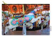 Carousel Horse With Flags Carry-all Pouch