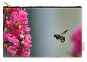 Carpenter Bee At Work Carry-all Pouch