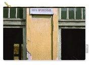 Carpenter. Belgrade. Serbia Carry-all Pouch