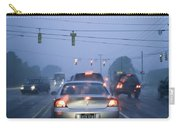 Cars And Traffic Lights In A Rain Storm Carry-all Pouch