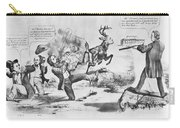 Cartoon: Election Of 1856 Carry-all Pouch by Granger