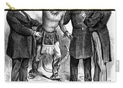 Cartoon: Native Americans, 1876 Carry-all Pouch by Granger