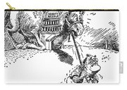 Cartoon: New Deal, 1937 Carry-all Pouch by Granger