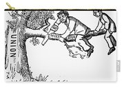 Cartoon: Secession, 1861 Carry-all Pouch