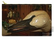 Carved Goose Carry-all Pouch