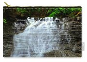 Cascading Falls Carry-all Pouch by Frozen in Time Fine Art Photography