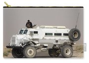 Casper Armored Vehicle Blocks The Road Carry-all Pouch by Terry Moore