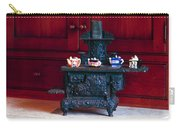 Cast Iron Stove With Teapots Carry-all Pouch