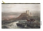 Castle: England, 19th C Carry-all Pouch