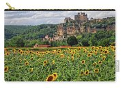 Castle In Dordogne Region France Carry-all Pouch