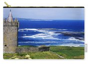 Castle On The Coast, Doonagore Castle Carry-all Pouch