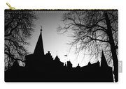 Castle Silhouette Carry-all Pouch by Semmick Photo