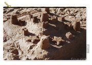 Castles Made Of Sand Carry-all Pouch by Xueling Zou