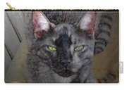 Cat Art Of Relaxing Carry-all Pouch