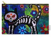 Cat Day Of The Dead Carry-all Pouch