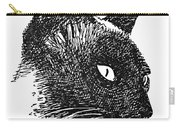 Cat Drawings 5 Carry-all Pouch