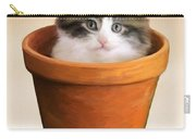 Cat In A Pot Carry-all Pouch