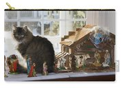 Cat In Creche Carry-all Pouch
