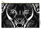 Cat Mask Carry-all Pouch