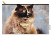 Cat Portrait Of A Cat Carry-all Pouch
