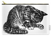 Cat-tabby-posters-1 Carry-all Pouch