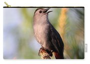 Catbird In Pine Carry-all Pouch