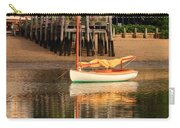 Catboat And Rippled Water Reflections Carry-all Pouch
