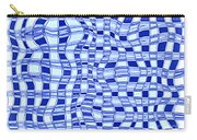 Catch A Wave - Blue Abstract Carry-all Pouch