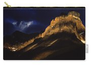 Cathedral Crags At Dusk, Yoho National Carry-all Pouch