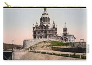 Cathedral In Helsinki Finland - Ca 1900 Carry-all Pouch