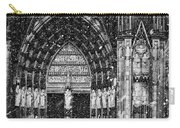 Cathedral In The Snow Panorama Carry-all Pouch