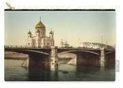 Cathedral Of Christ The Saviour - Moscow Russia Carry-all Pouch