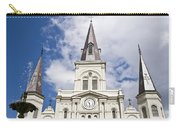 Cathedral Of Saint Louis Carry-all Pouch