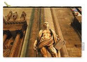 Cathedral Statue Milan Italy Carry-all Pouch