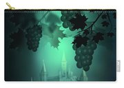 Catle And Grapes Carry-all Pouch by Svetlana Sewell