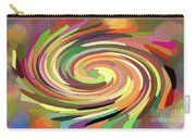 Cat's Tail In Motion. Stained Glass Effect. Carry-all Pouch