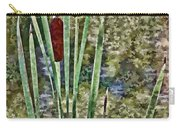 Cattails Along The Pond Carry-all Pouch