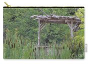 Cattails In The Garden Carry-all Pouch