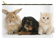 Cavalier King Charles Spaniel Pup Carry-all Pouch
