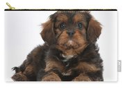 Cavapoo Pup Carry-all Pouch