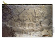Cave Art - Mammoth And Ibexes Carry-all Pouch