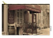 Cave Du Paradoxe Wine Shop In Beaune France Carry-all Pouch