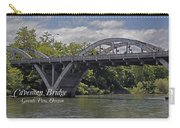 Caveman Bridge With Text Carry-all Pouch