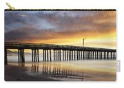 Cayucos Pier Reflected Carry-all Pouch
