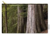 Cedar Trees, Whistler, British Columbia Carry-all Pouch
